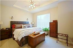 Uptown Dallas Townhomes Bedroom!
